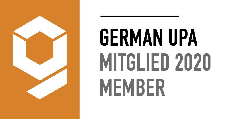 Offizielles Mitglied der German UPA 2020.
