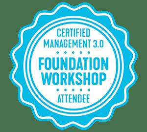 Management 3.0 Foundation Workshop Badge